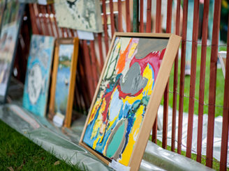Clothesline Art Sale Artwork
