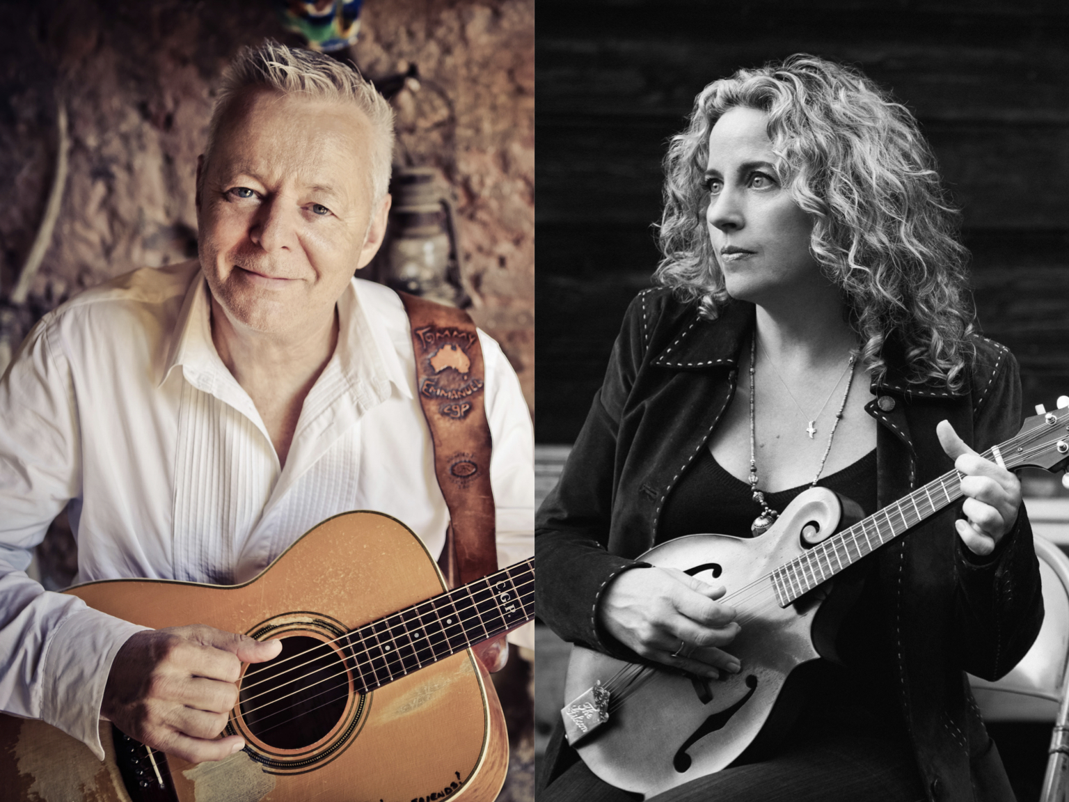 GE Smith presents PORTRAITS featuring Tommy Emmanuel and Amy Helm